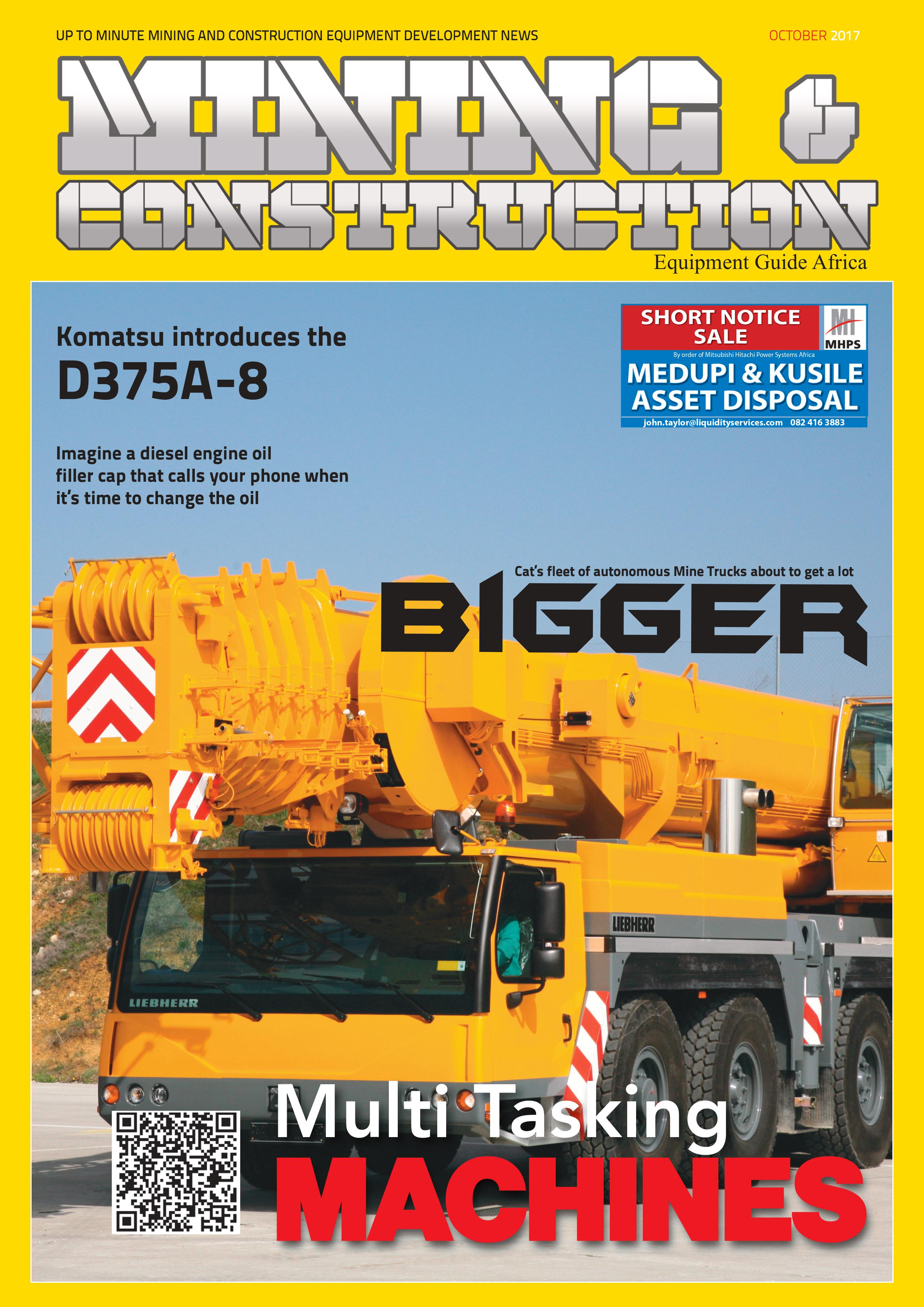Up to Minute News in Mining & Construction Equipment for Africa