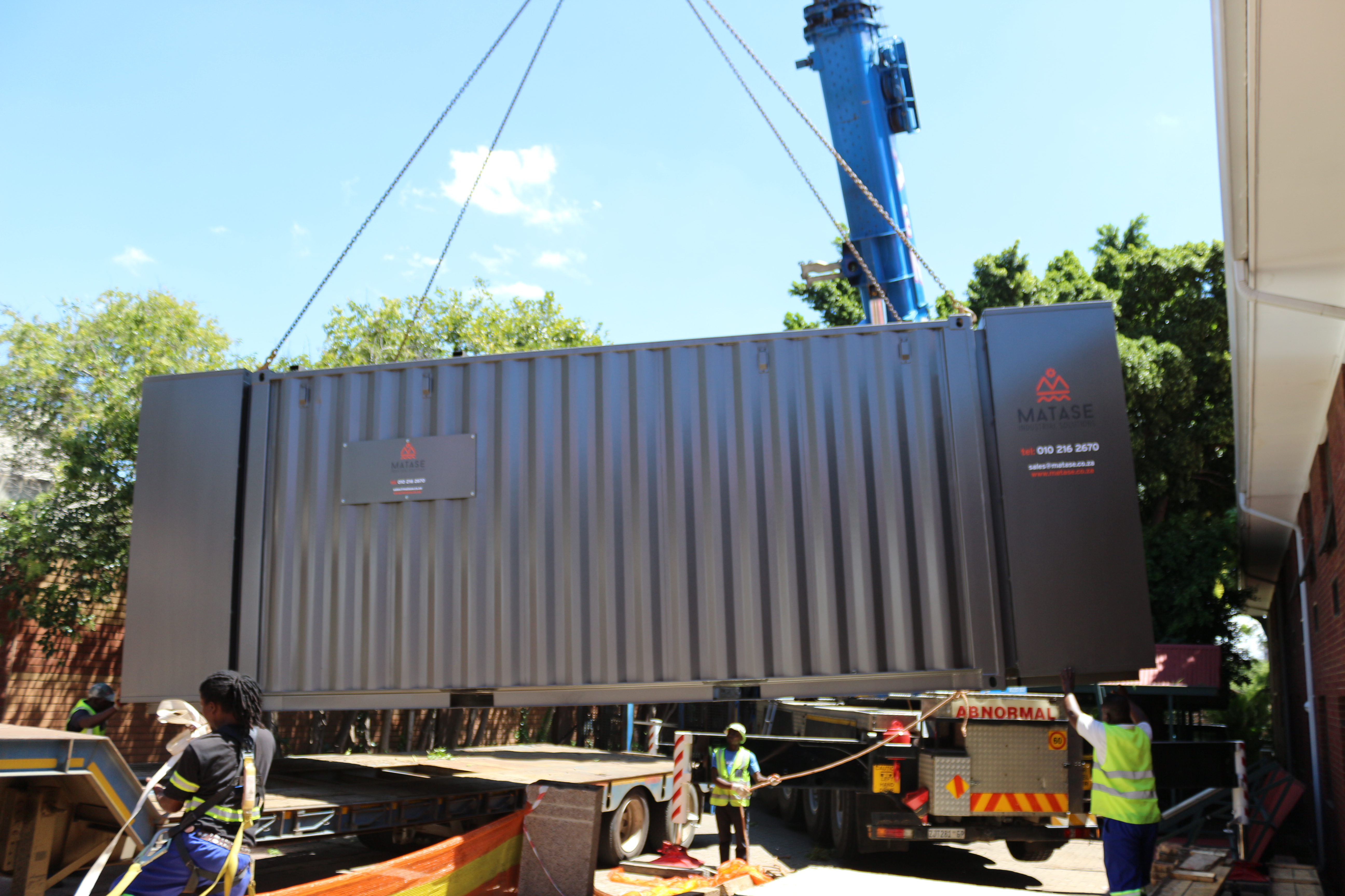 Matase Industrial Solutions Standby Diesel generator Solutions